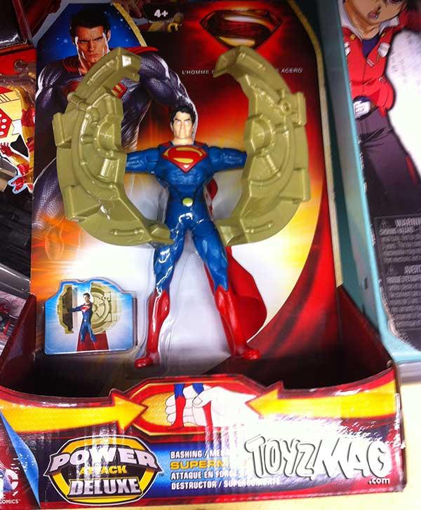 Man Of Steel Mattel superman