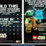 Star Wars LEGO : Press Kit pour Yoda Chronicles