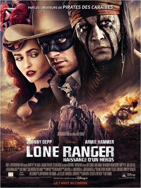 Lone Ranger poster français