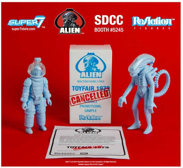 "ALIEN REACTION FIGURE 2 PACK - ""DISCOVERED SALES SAMPLES"" - BIG CHAP & KANE"