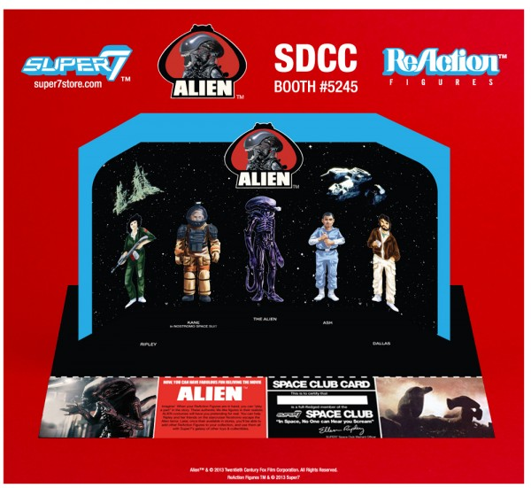 "ALIEN REACTION FIGURE ""EARLY BIRD PACKAGE"""