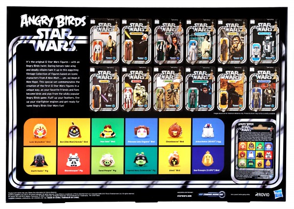 Angry Birds Star Wars SDCC 2013_back view