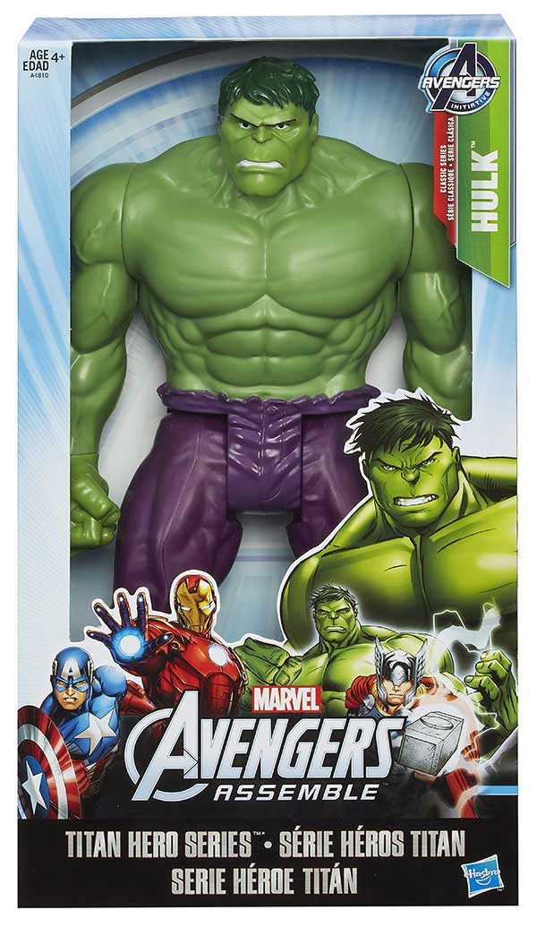 Avengers Assemble Hulk Hasbro TITAN HEROS SERIES