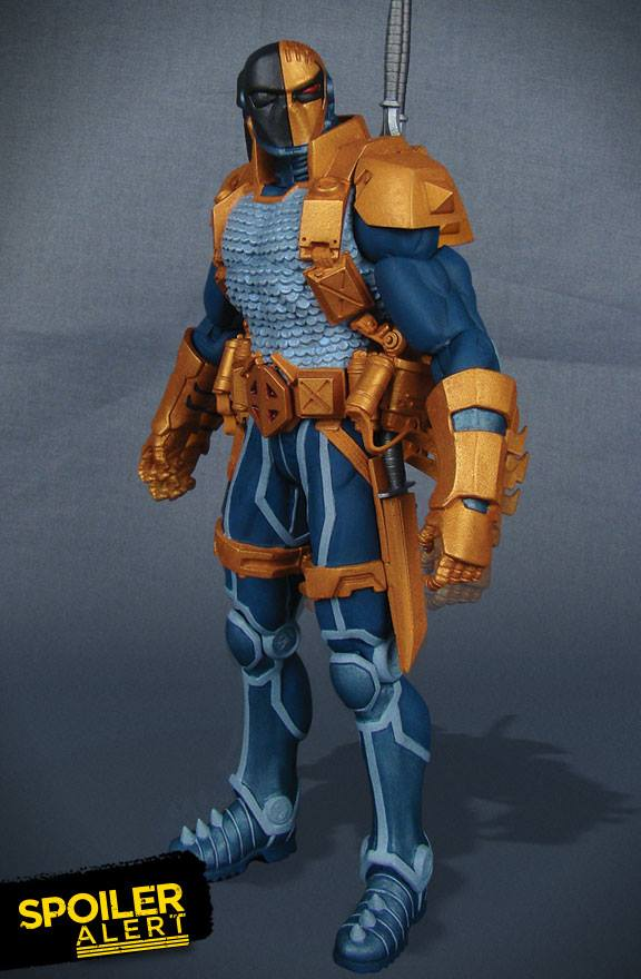 DC Super-Villains Deathstroke Action Figure