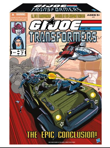 Gi joe Transformers SDCC2013 exclue  packaging