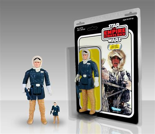 Han Solo (Hoth Outfit) Kenner Jumbo Figure