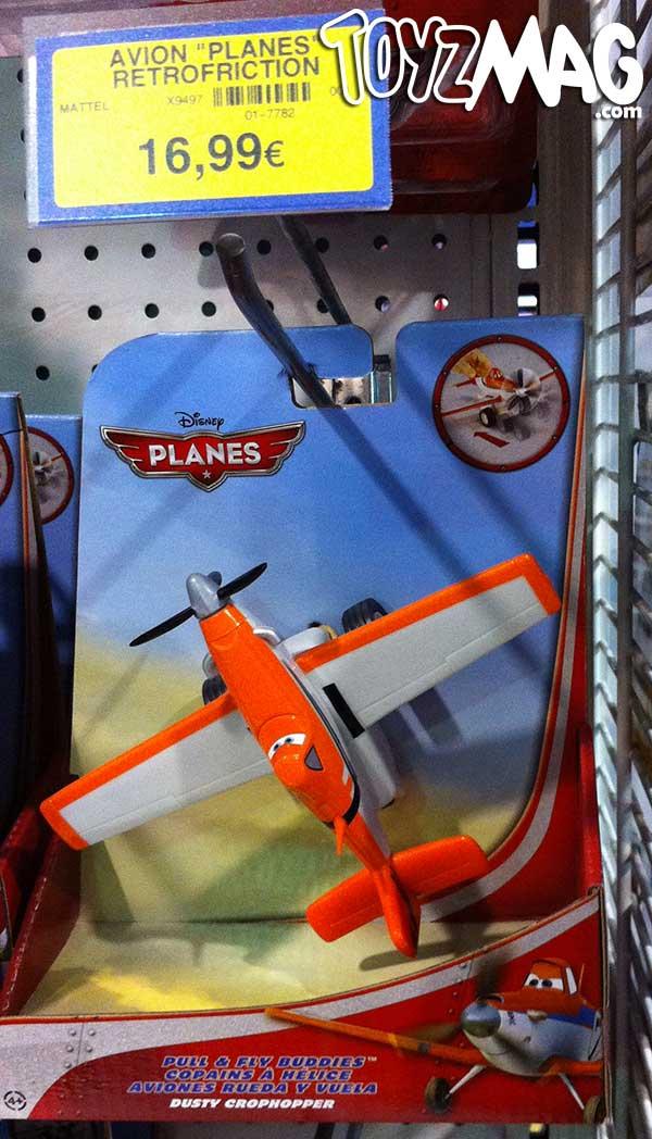 Planes retrofictions Mattel