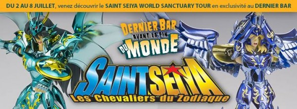 Le SAINT SEIYA World Sanctuary Tour arrive en France !