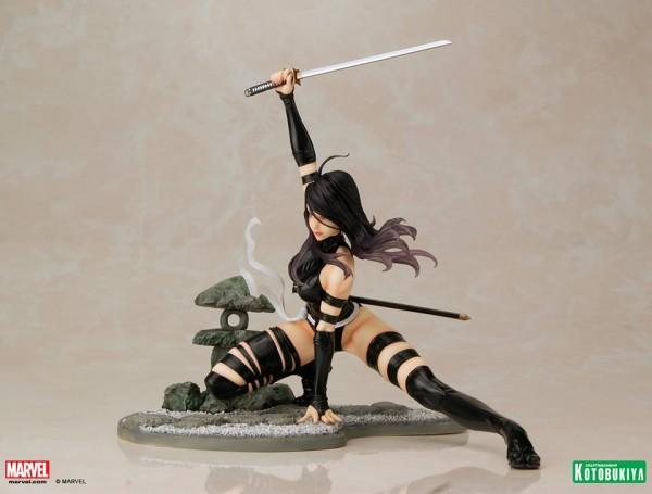 Marvel Comics Psylocke X-Force Ninja Outfit Bishoujo Statue