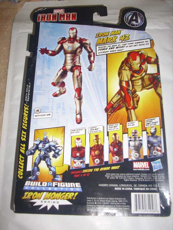 Marvel Legend IRON MAN 3 MARK 42