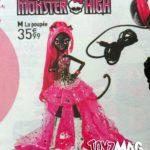 Monster High Le poupée Vendredi 13