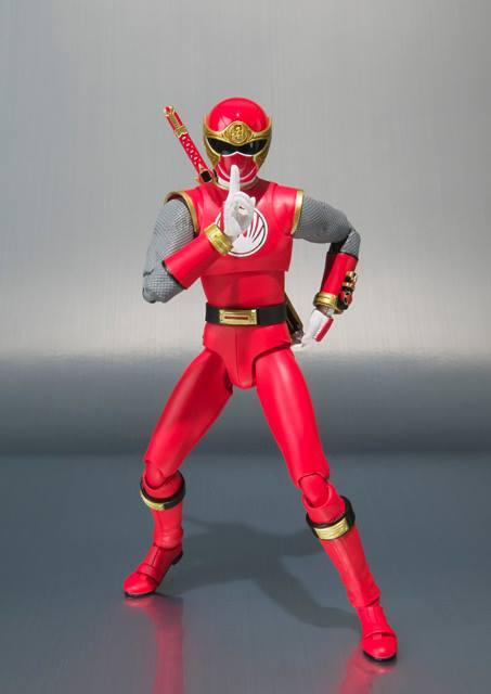 Ninja Storm, Ranger Form Ha tamashii shfiguarts 3