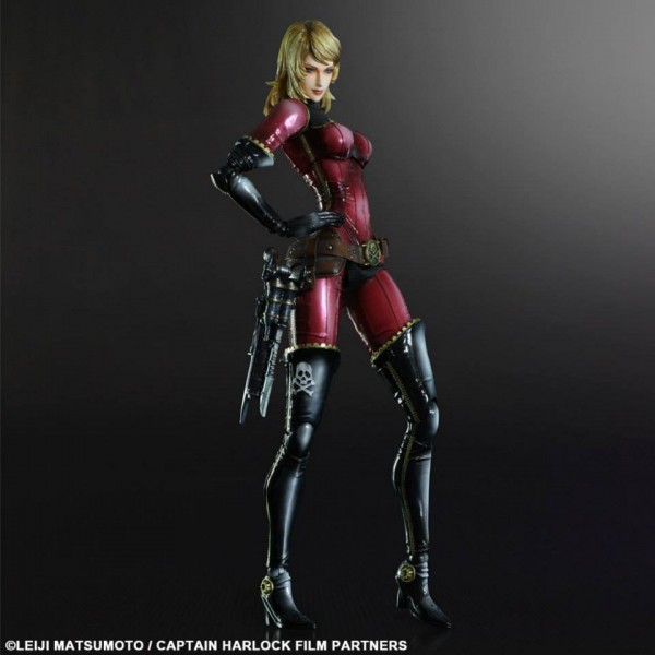 Play Arts Kai Yuki Kei Captain Harlock Square Enix