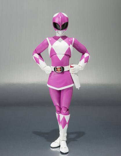 S.H.Figuarts Ptera Ranger  Pink Ranger Rose