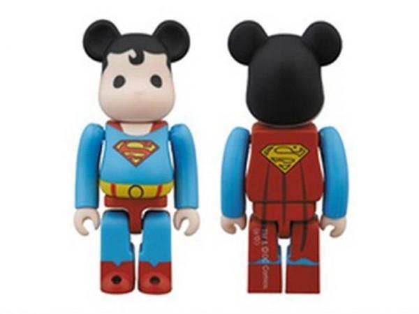 SDCC 2013 Exclusive DC Comics Super Powers Superman Bearbrick
