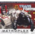 Transformers : les images officielles de Metroplex et Trailcutter