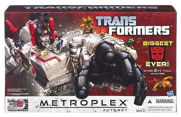 Trasnformers Generations Metroplex