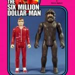Des figurines Retro-vintage de l'Homme qui valait 3 milliards