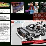 LEGO back to the future, enfin des infos