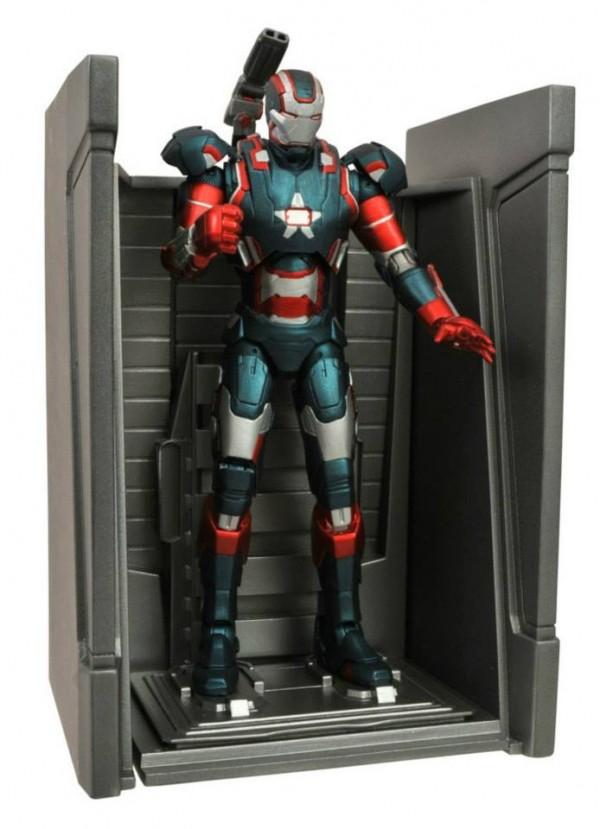 dst marvel select Iron Man iron patriot 2