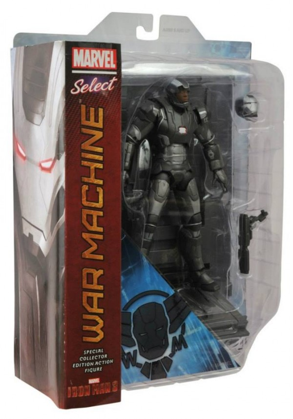 dst marvel select Iron Man war machine 7