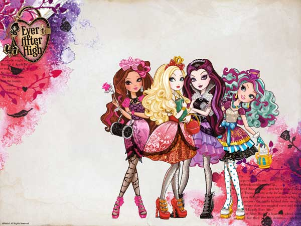 ever after high mattel