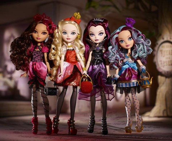 Ever After High wave 1 serie 1