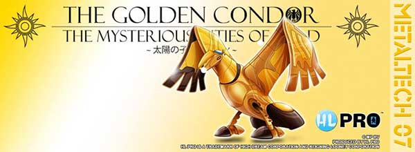 Les mysterieuse cités d'or grand condor HLPRO