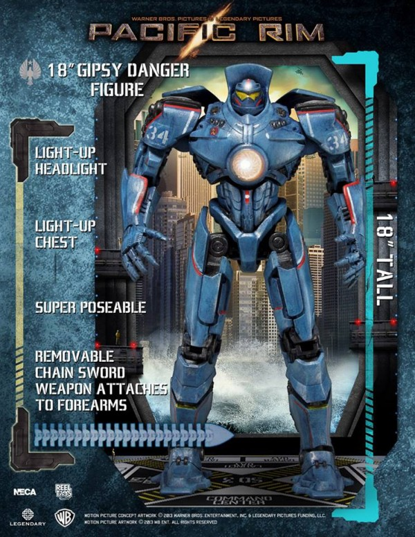 Pacific Rim/ Gipsy Danger 18 inch Action Figure by Neca