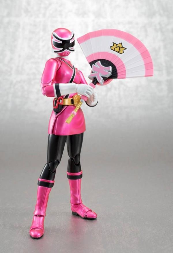 pink samurai power ranger sdcc exclu apck tamashii nations bluefin usa