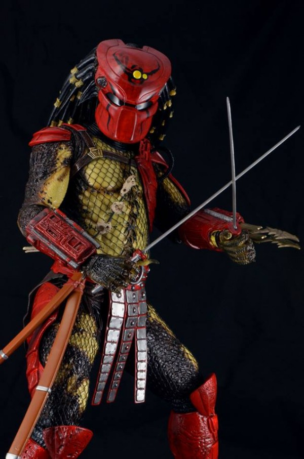 red predator neca 3