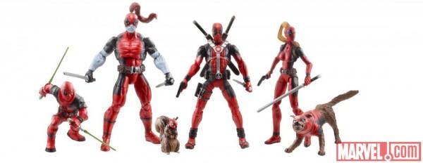 sdcc 2013 Marvel universe Hasbro deadpool taco