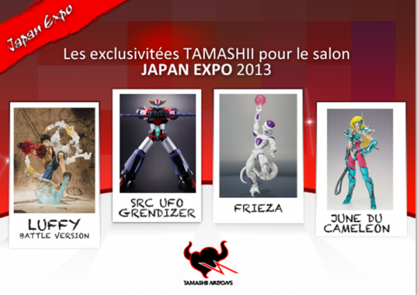 tamashii Nation exclu japan expo 2013