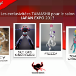 Les exclus Tamashii Nation pour la Japan Expo et Comic Con Paris'