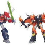 Transformers : un pack Optimus VS Predaking