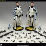 Star Wars The Clone Wars : Echo & Fives par Sideshow