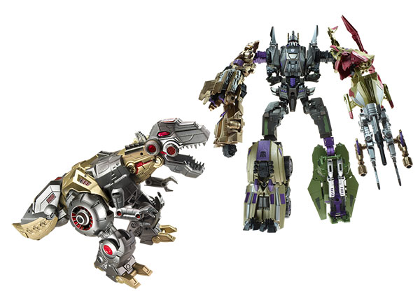 Thrilling 30  transformers Grimlock_Vs_Bruticus