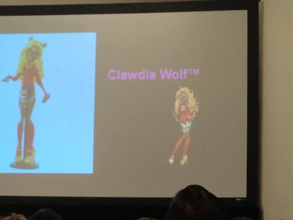 Monster High CLADWIA WOLF & HONEY SWAMP
