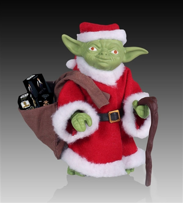 Yoda Holiday 2013 Kenner Jumbo Figure