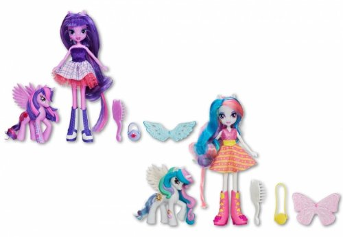 MLP equestria girls twilight sparkle pincesse celestia