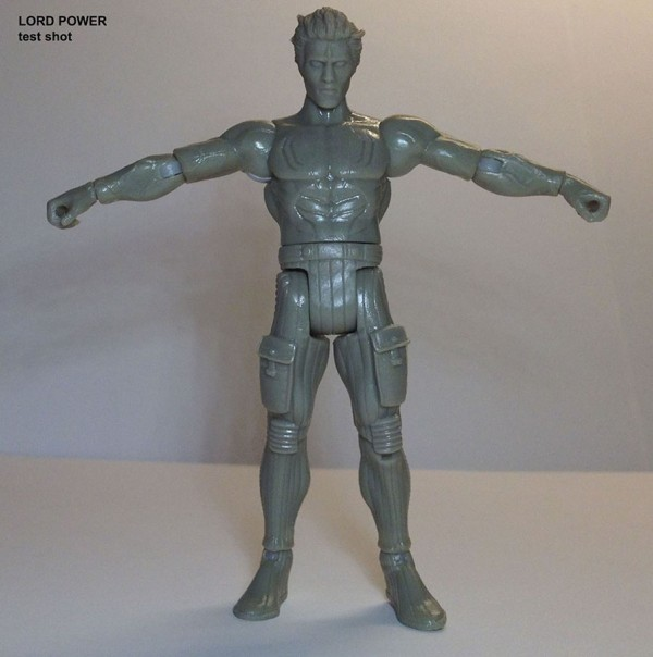 POWER LORDS: LORD POWER PRE-PRODUCTION SAMPLE