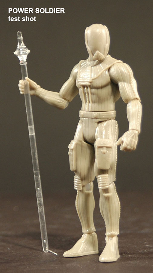 POWER LORDS POWER SOLDIER PRE-PRODUCTION FIGURE