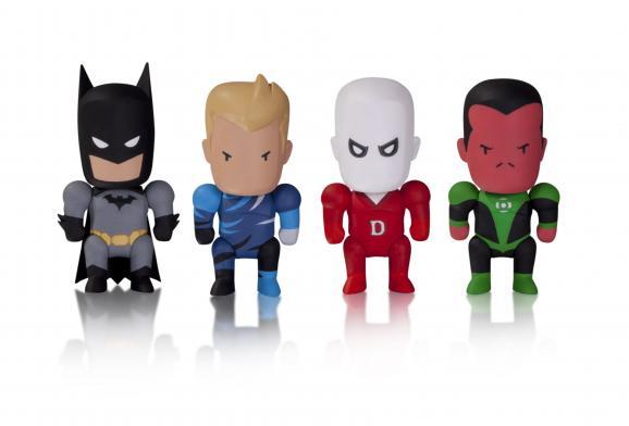 Scribblenauts Unmasked DC Comics Blind Box Vinyl Figures pg