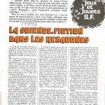 Scoop Toyzmag : présentation du Diorama Meccano Star Wars dans une revue française de 1978