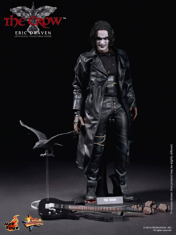 The Crow 16th scale Eric Draven Collectible Figure (15)