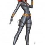 Black Widow Kotobukiya par Adi Granov