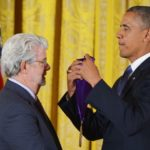 Obama a décoré Lucas et parlé de Star Wars