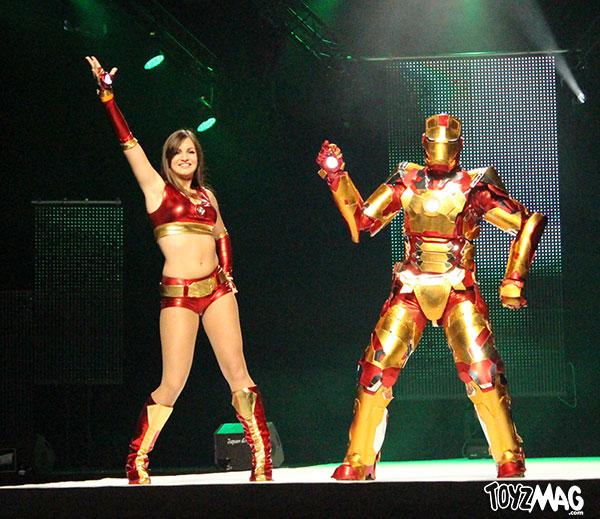 comic con paris 2013 - defilé cosplay