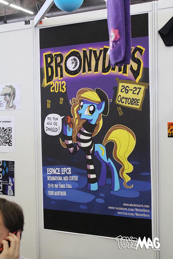 comic con paris bronys MLP
