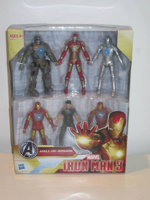 iron man hall of armor box set